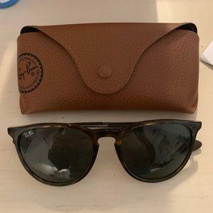 Erika Ray-Ban Sunglasses - Tortoise